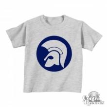 Trojan style - Kids Shirt Grey