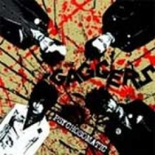 Gaggers, The - Psychosomatic 7'EP 2nd press CLEAR VINYL