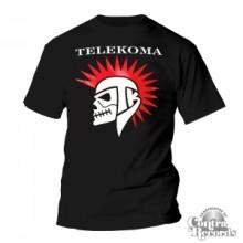 Telekoma - Skull - T-Shirt Black