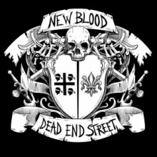 "V/A Dead End Street / New Blood - split 7""EP lim300 Black"