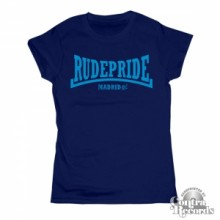 Rude Pride - Girl Shirt - Navy Blue