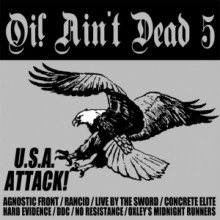 v/a - Oi! ain't dead 5 - USA Attack! CD