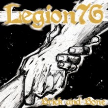 "Legion 76 - ""Brick and Bone"" - 7"" EP+Download,Black (repress)"