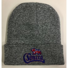 Contra Records - Bulldog - Beanie (Heather Grey)