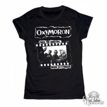 Oxymoron - Fuck the Nineties -Girl Shirt black
