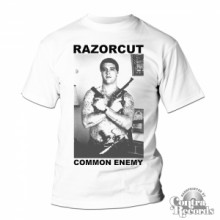 Razorcut - Common Enemy - T-Shirt White (last sizes!)