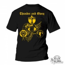 THUNDER & GLORY -T-Shirt black
