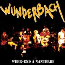 """WUNDERBACH - Week-End à Nanterrre Live 12""""LP lim. 500"""