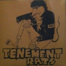 "Tenement Rats - s/t 7""EP lim. brown cover"