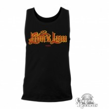 Lion's Law - lettering - Tanktop Men Black-S (last size!)