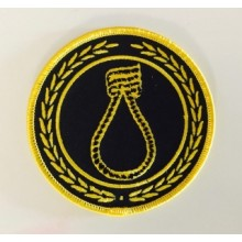 "Patch - CRIM ""noose"" yellow"