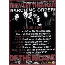 Marching Orders - EU Tour 2011 - A1 Poster