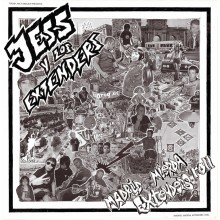 "Jess Y Los Extenders ‎- Madrid, Mierda, Extender's Roll 12""LP Single Sided lim.300 black"