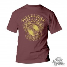 "Subculture for Life - ""Anchor"" - T-Shirt oxblood red"