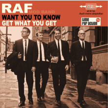 "RAF - WANT YOU TO KNOW 7""EP lim.200 solid black"