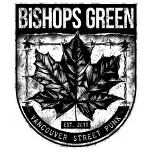 "Bishops Green - ""Leaf"" - Sticker white"