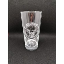 "Contra Records ""Black Panther"" - Drinking Glass"