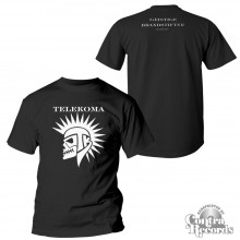 "Telekoma - ""Geistige Brandstifter""  T-Shirt Black front/backprint"