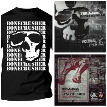 "Bonecrusher - package deal # T-Shirt + 7er Jungs- Split 7""EP"