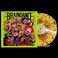 """Braindance - Raise yer Glass - 12""""LP lim.400 multi-color splatter"""