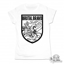 Brutal Bravo - Girl Shirt White