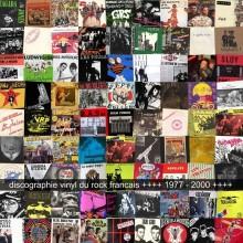 """""""DISCOGRAPHIE DU ROCK FRANCAIS 1977 - 2000"""" Book"""