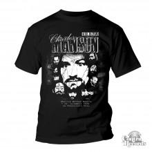 Criminals - Charles Manson - T-Shirt-S Last size!!)