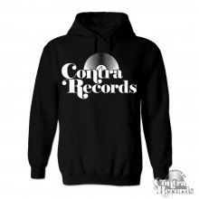 Contra Records - Vinyl classic - Hoody black