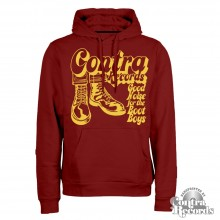 "Contra Records - ""Bootboys"" - Hoody oxblood"
