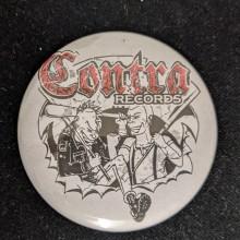 Contra Records - Punk & Skin - Big Button 56mm