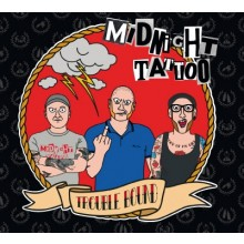 "Midnight Tattoo - ""Trouble Bound"" 12""LP lim.200 multicolor-striped"