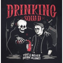 """Drinking Squad - """"You'll Never Drink Alone"""" 7""""EP lim.300 black"""