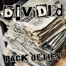 "Divided,The - ""Pack Of Lies"" 7""EP lim.300 black"