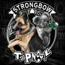 "V/A Strongbow /Topnovil Split 7""EP (lim. Australian Import)"