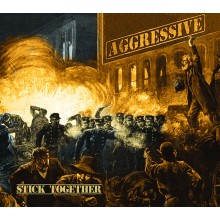"AGGRESSIVE - Stick Together 12""LP lim.200 gold/blue spl."