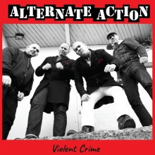 "Alternate Action - ""Violent crime"" 12""MLP lim. 350 silver (silkscreened B side)"