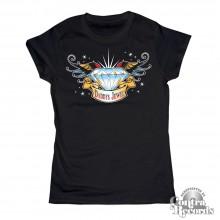 Daddys Jewel black - Girl Shirt