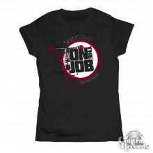 On the Job - Girl Shirt - black