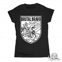 Brutal Bravo - Girl Shirt black