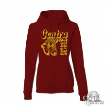 "Contra Records - ""Bootgirls"" - Girl Hoody oxblood"