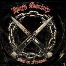 """High Society -  Fear or Freedom 12""""LP lim.300 black"""