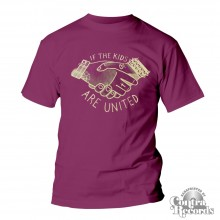 If The Kids Are United - T-Shirt oxblood red