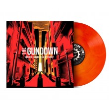 """Gundown,The - """"Dead End Alleyway"""" 12""""LP lim.100 galaxy blood red / mustard yellow Contra edt."""