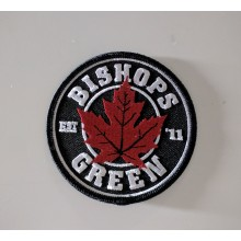 "Patch - Bishops Green ""leaf"""