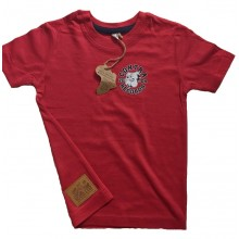 "Contra Kids Wear - ""Bulldog 2004"" - Kids Shirt red"