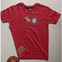 "Contra Kids Wear - ""Bulldog 2004"" - Kids Shirt red"