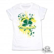 Love & Hate - Girl Shirt white