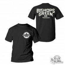"Bishops Green - ""Vancouver Streetpunk"" - T-Shirt black front/backprint"