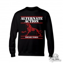 "Alternate Action - ""Tough Times"" - Crewneck Sweatshirt black"