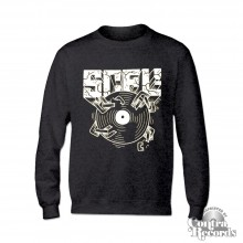 "Subculture for Life - ""SCFL! Vinyl"" - Longsleeve Shirt heather grey lim.20 pcs"